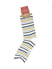 MARCOLIANI Pima Cotton Lisle Portofino Stripe Socks