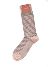 MARCOLIANI Pima Cotton Lisle Micro Diamonds Socks