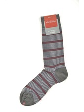 MARCOLIANI Pima Cotton Pique Tie Stripe Socks