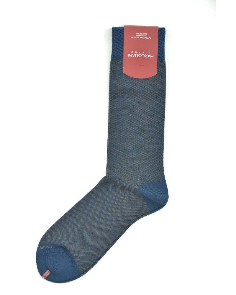 MARCOLIANI Extrafine Merino Birdseye Socks