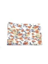 MONTEBELLO Tan Floral Pocket Square