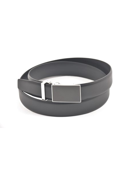 Lloyd Domed Leather Belt with Automatic Buckle