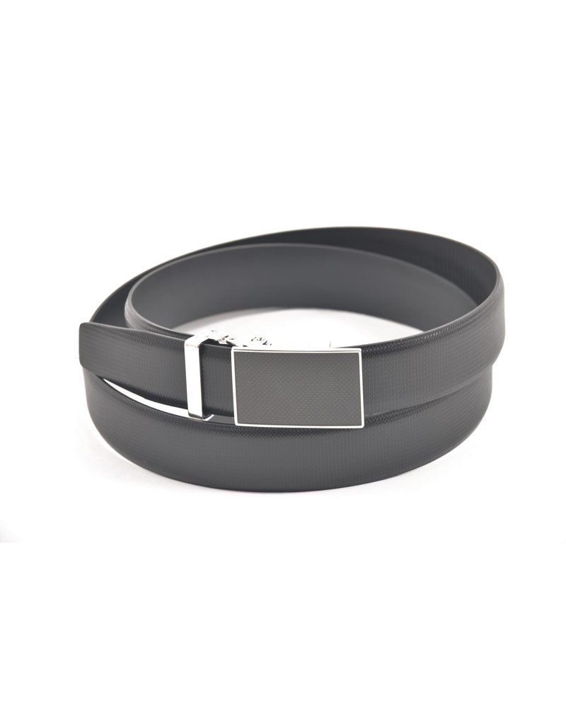 LLOYD Lloyd Domed Leather Belt with Automatic Buckle