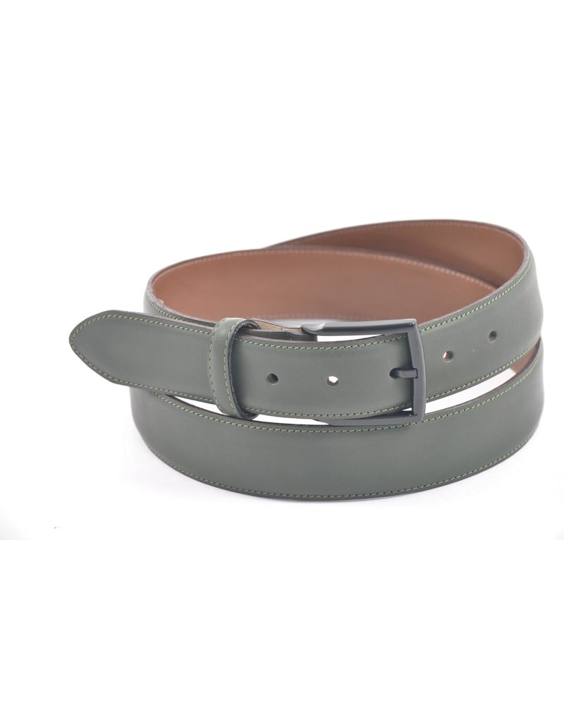 BENCHCRAFT Soft Feel Matte Finish Belt