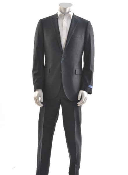 PAUL BETENLY Modern Fit Navy Stretch Suit