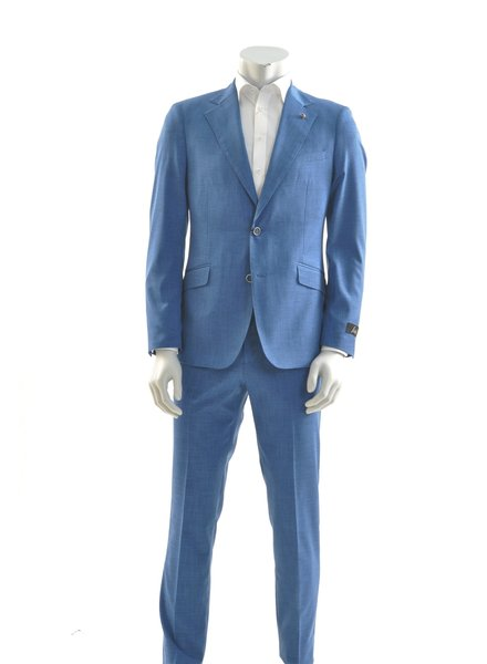 SUITOR Slim Fit  Hi Blue Suit