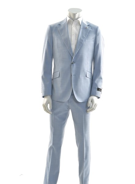 SUITOR Slim Fit Light Blue Suit