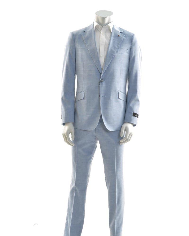 SUITOR Slim Fit Light Blue Suit