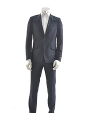SUITOR Slim Fit Indigo Suit