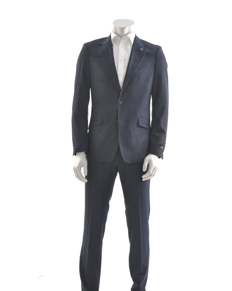 SUITOR Slim Fit Indigo Suit