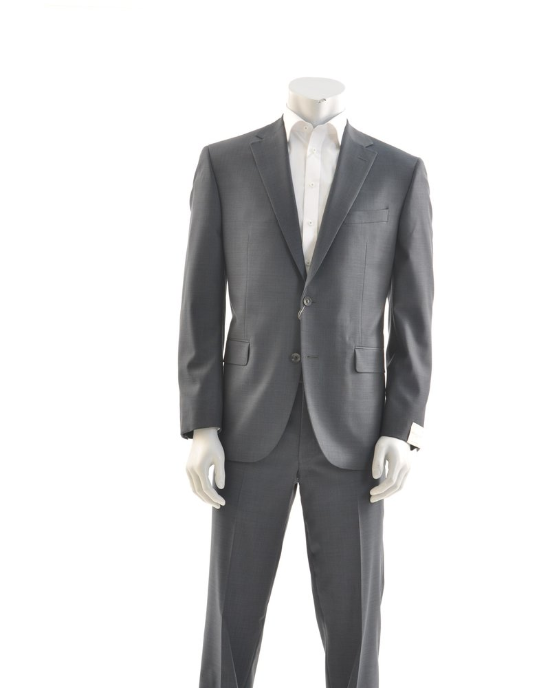 JACK VICTOR Modern Fit Navy Neat Suit