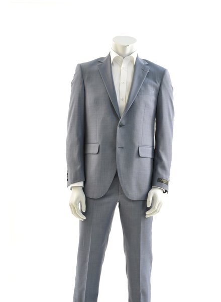 COPPLEY Modern Fit Light Blue Nailhead Suit