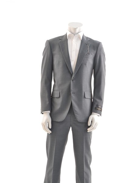 COPPLEY Classic Fit Teal Grey Suit