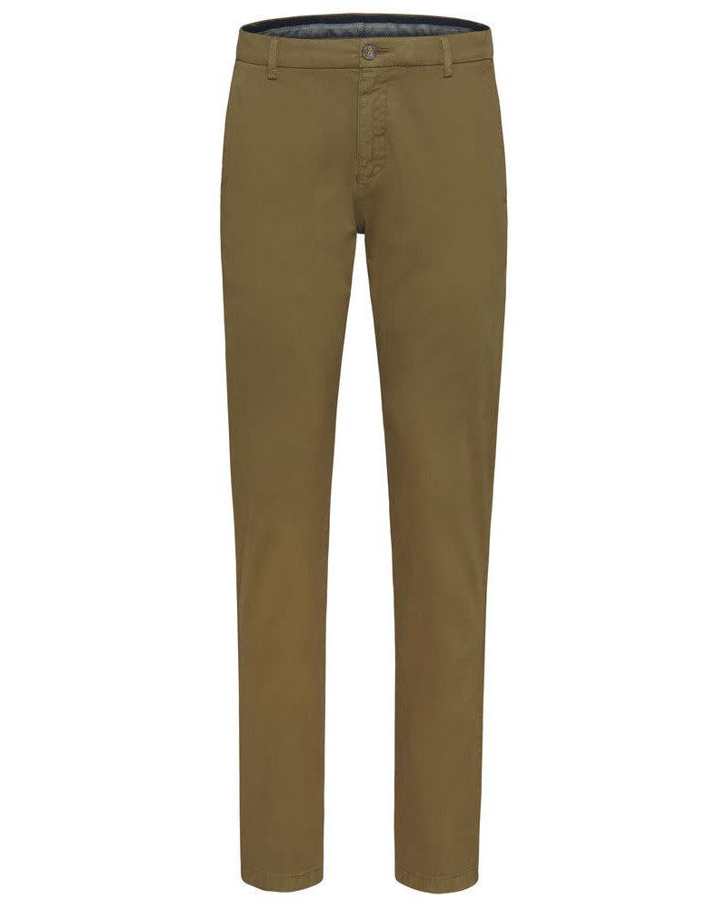 BUGATTI Modern Fit Camel Casual Pant