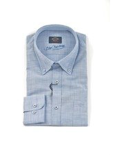 PAUL & SHARK Classic Fit Blue Chambray Shirt