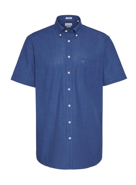 BUGATTI Modern Fit Denim Blue Shirt