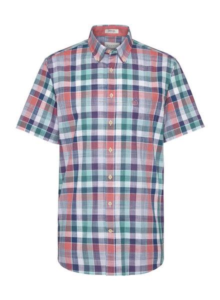 BUGATTI Modern Fit Coloured Plaid Shirt