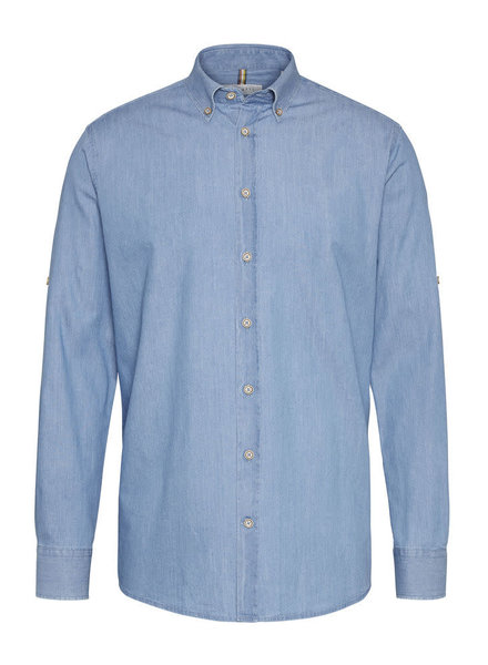 BUGATTI Modern Fit Light Weight Denim Shirt