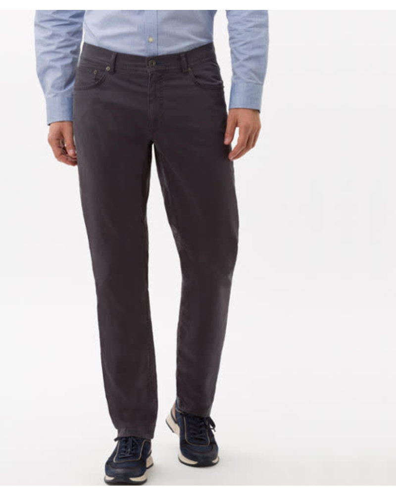 BRAX Modern Fit Mid Grey Marathon 5 Pocket Pant