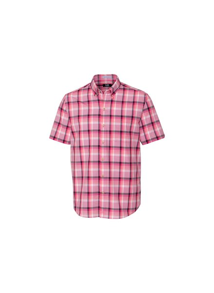CUTTER & BUCK Classic Fit Adobe Plaid Shirt