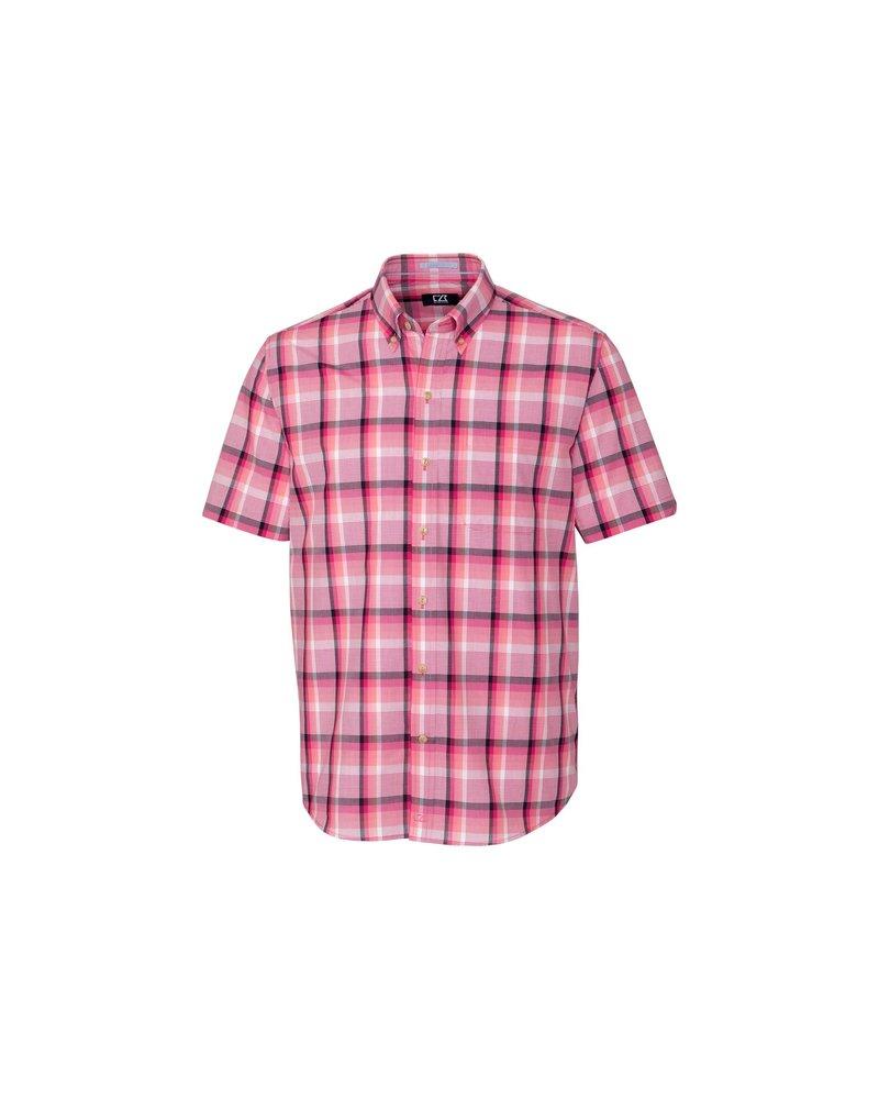 CUTTER & BUCK Classic Fit Adobe Plaid Shirt