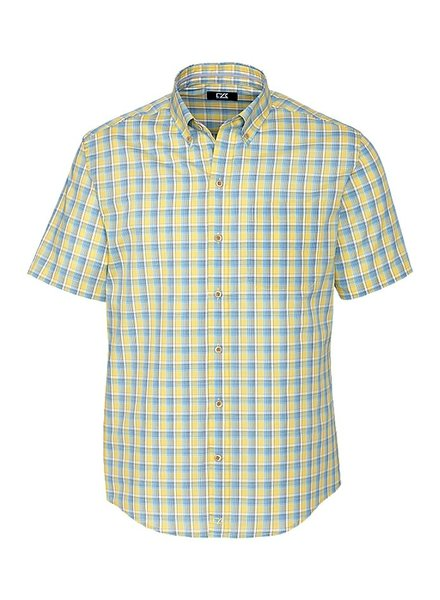 CUTTER & BUCK Classic Fit Free Luis Check Shirt