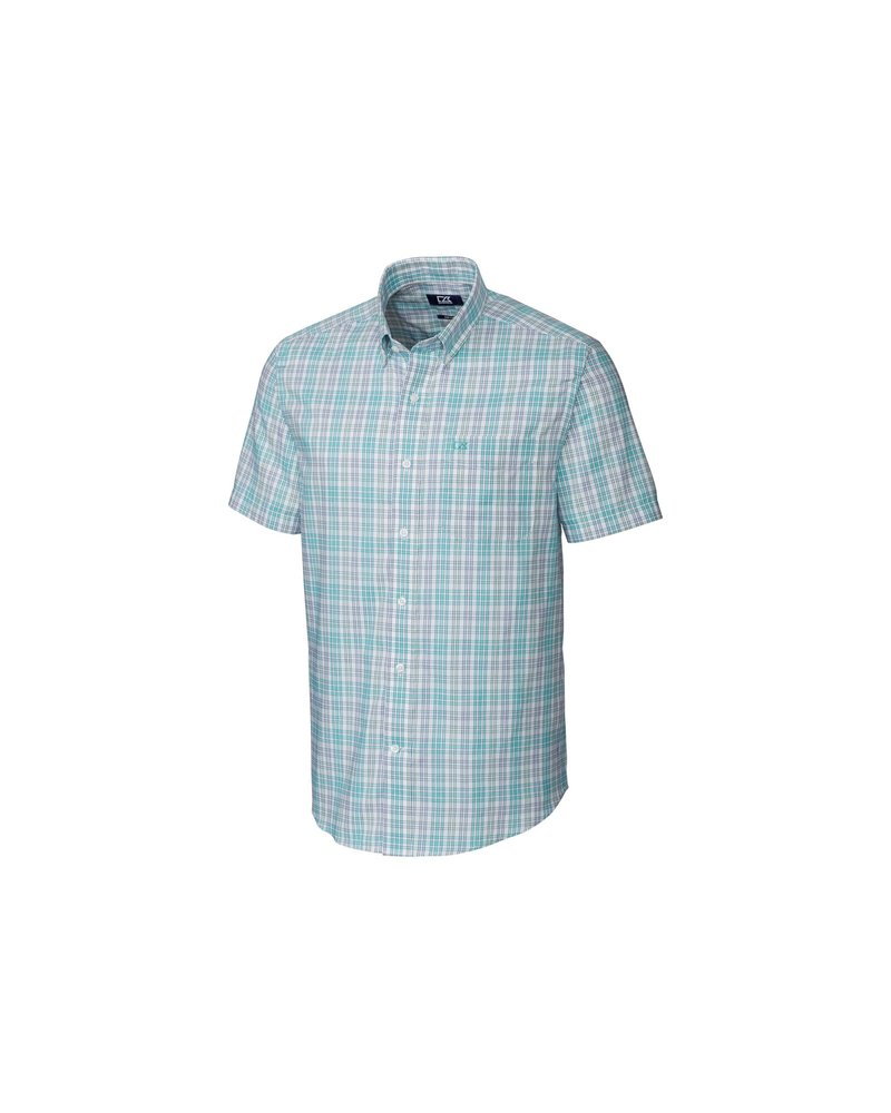CUTTER & BUCK Classic Fit Isaac Plaid Shirt