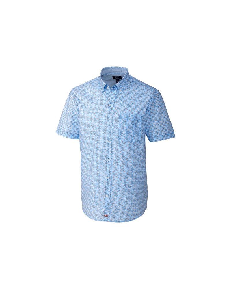 CUTTER & BUCK Classic Fit Kaleb Print Shirt
