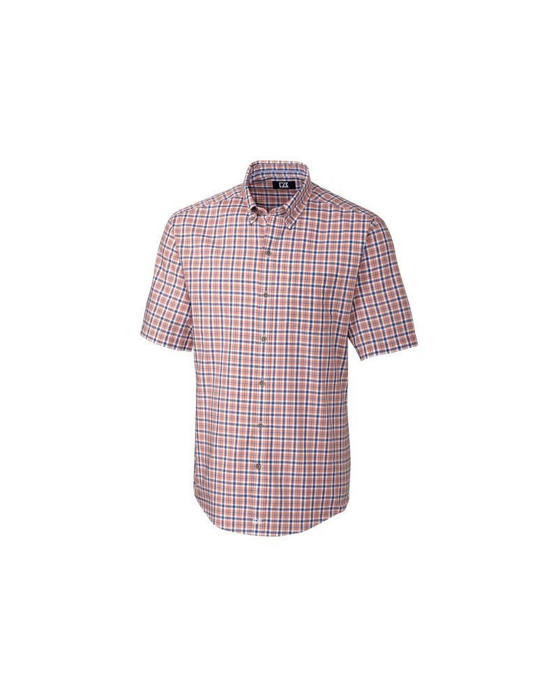 CUTTER & BUCK Classic Fit Mars Plaid Shirt