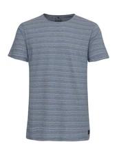 BLEND Blue White Stripe T Shirt