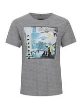 BLEND Printed T Shirt