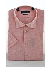 LIPSON Modern Fit Cotton Linen Blend Shirt