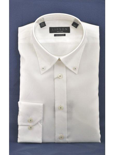 LIPSON Modern Fit Button Down Oxford Shirt