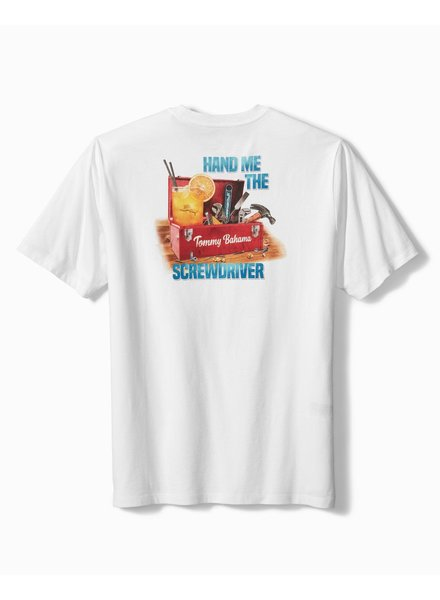 TOMMY BAHAMA Hand Me The Screwdriver Tee