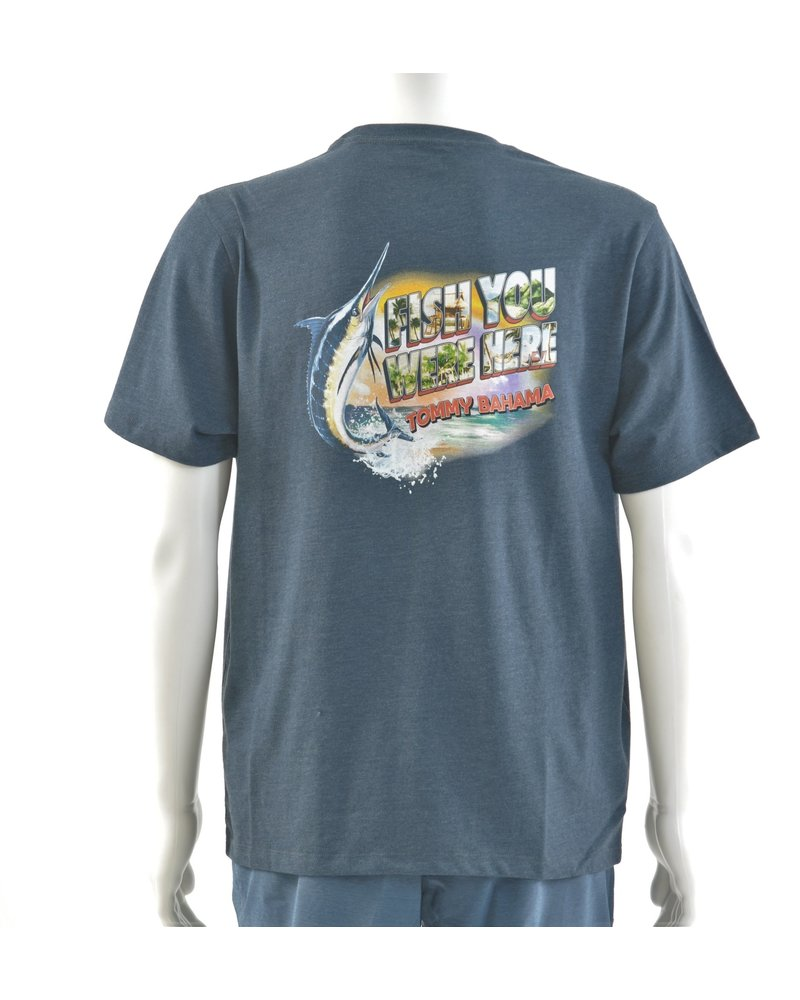 TOMMY BAHAMA Fish You Were Here Tee