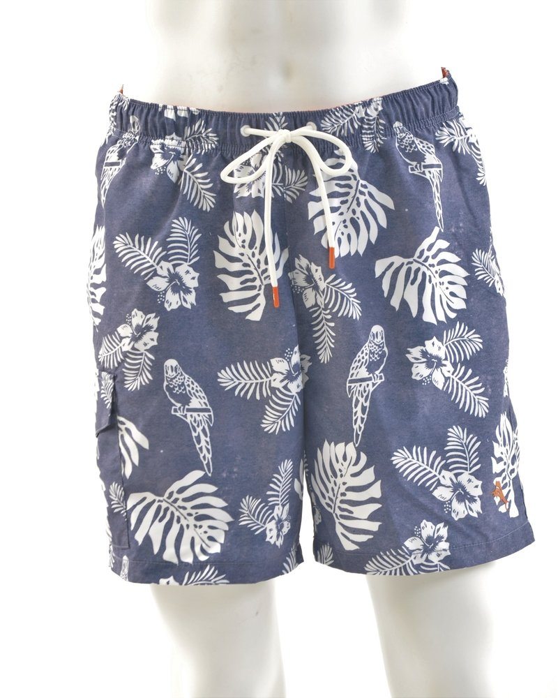 TOMMY BAHAMA Naples Parrot in Paradise Trunks