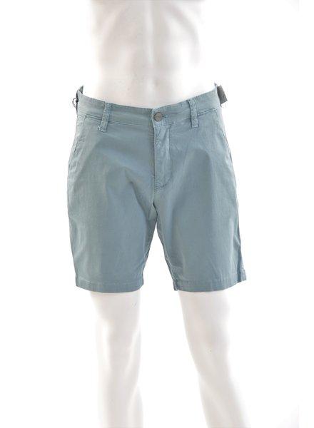 34 HERITAGE Slim Fit Aqua Washed Twill Short