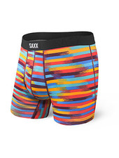 SAXX Undercover Red Reflective Stripe Boxer Brief with Fly