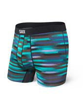 SAXX Undercover Black Reflective Stripe Boxer Brief with Fly