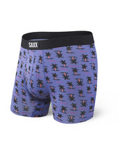 SAXX Undercover Blue Summer Palm Boxer Brief with Fly