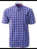 MARCO Classic Fit Blue Plaid Shirt