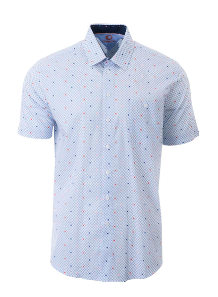 MARCO Classic Fit Coloured Daisies Shirt
