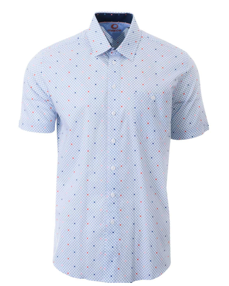 MARCO Classic Fit Colored Daisies Shirt