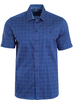 MARCO Classic Fit Navy with Dots Shirt