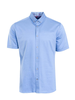 MARCO Modern Fit Mid Blue Neat Shirt