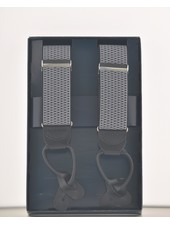 BENCHCRAFT Grey Leather Strap Suspender
