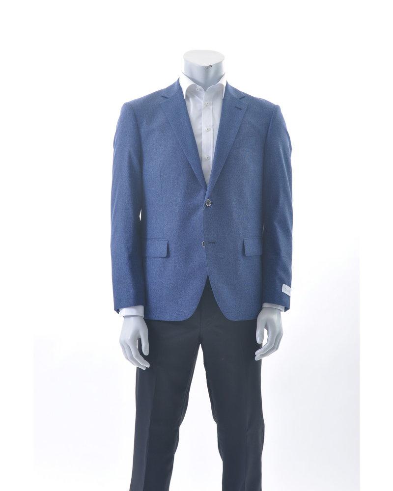 S COHEN Modern Fit Blue Loose Weave Sport Coat