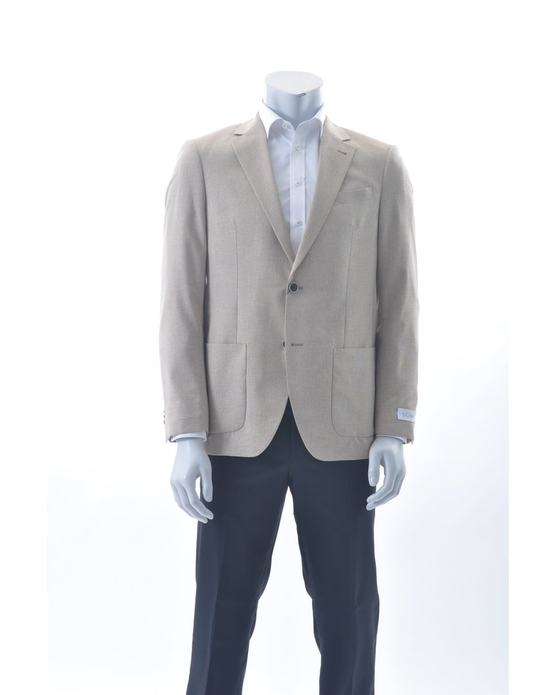 S COHEN Modern Fit Loose Weave Sport Coat