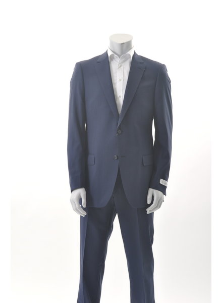 S COHEN Classic Fit Navy Suit