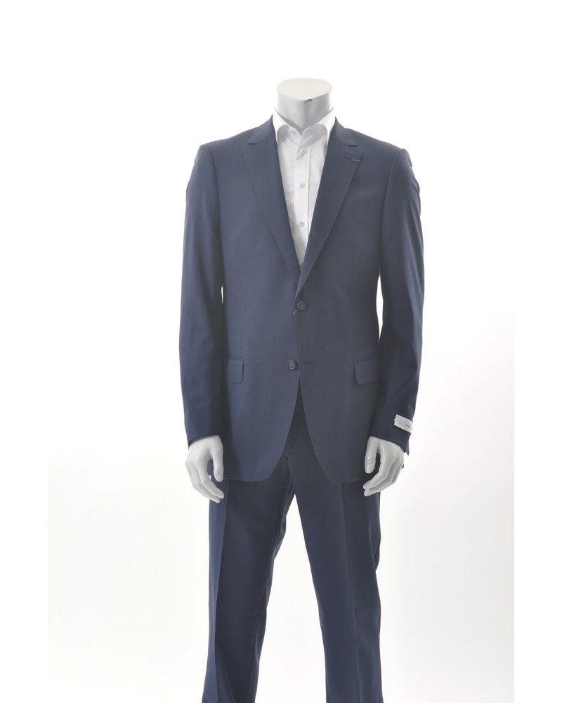 S COHEN Classic Fit Navy Suit